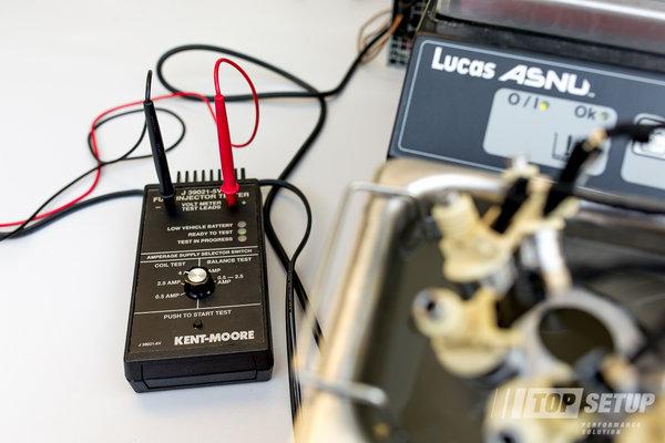 Testowanie elektroniki wtryskiwaczy